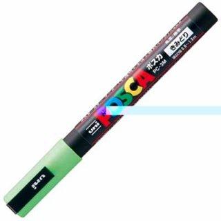 三菱鉛筆 POSCA ポスカ 細字 黄緑 PC-3M.5