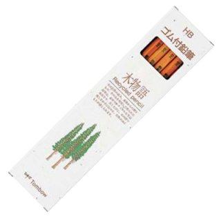 トンボ ゴム付鉛筆 木物語鉛筆 HB LG-KEAHB