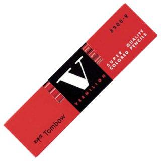 トンボ 赤鉛筆 8900V(朱色)