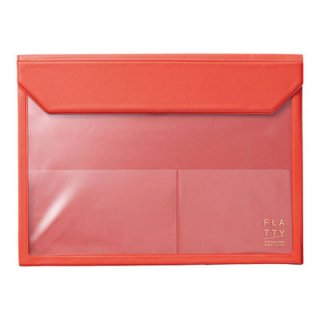キングジム かさばらないバッグインバッグA4サイズ FLATTY フラッティ 5366