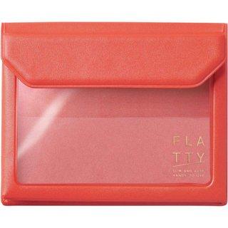 キングジム かさばらないバッグインバッグ カードサイズ FLATTY フラッティ 5356