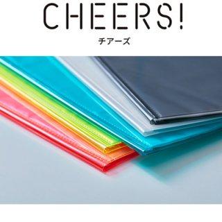 キングジム CHEERS! チアーズ クリアーファイル A4サイズ 20P CH182T