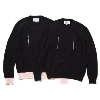 cotton zip jumper
