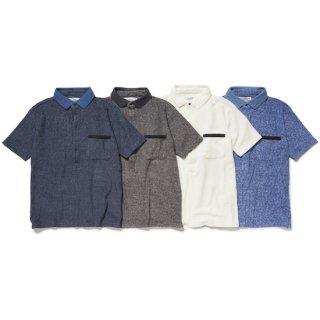 towelling polo shirt