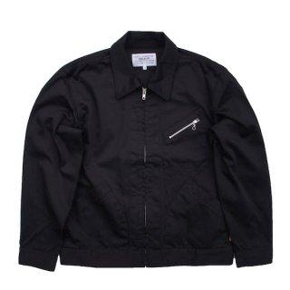 satin work jacket