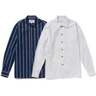 flat collar regimental shirt