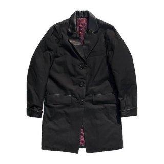waxed long jacket