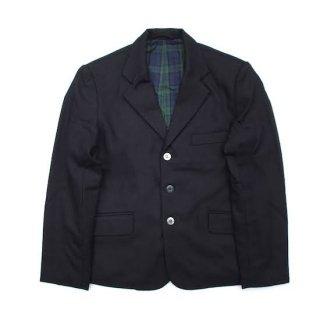flannel wool box jacket