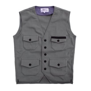 <img class='new_mark_img1' src='https://img.shop-pro.jp/img/new/icons5.gif' style='border:none;display:inline;margin:0px;padding:0px;width:auto;' />fleece railwayman waistcoat