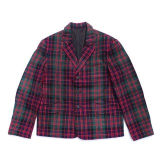 tartan box jacket