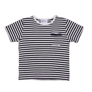 stripe Marx pocket tee shirt
