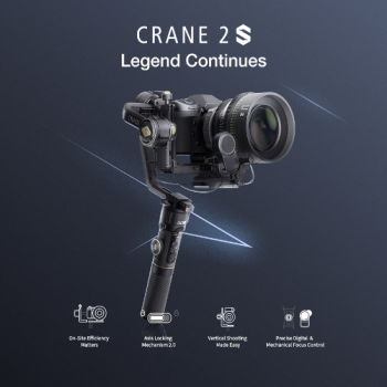 <img class='new_mark_img1' src='https://img.shop-pro.jp/img/new/icons5.gif' style='border:none;display:inline;margin:0px;padding:0px;width:auto;' />Zhiyun Crane 2S 3軸スタビライザー ジンバル  (1年保証付き)