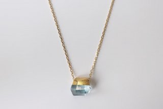 Aquamarine Rock Necklace A