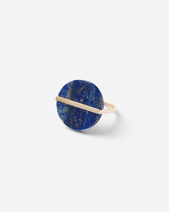 Slice Ring Lapis lazuli