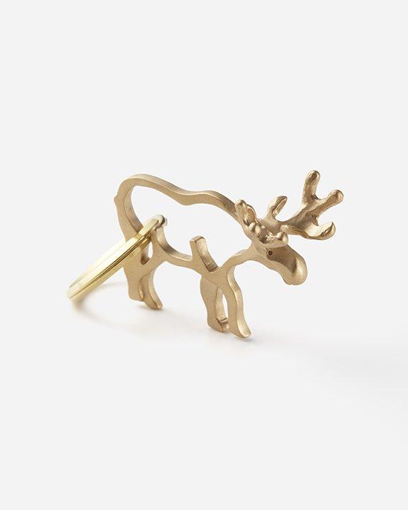 Moose (ヘラジカ)  Key Ring