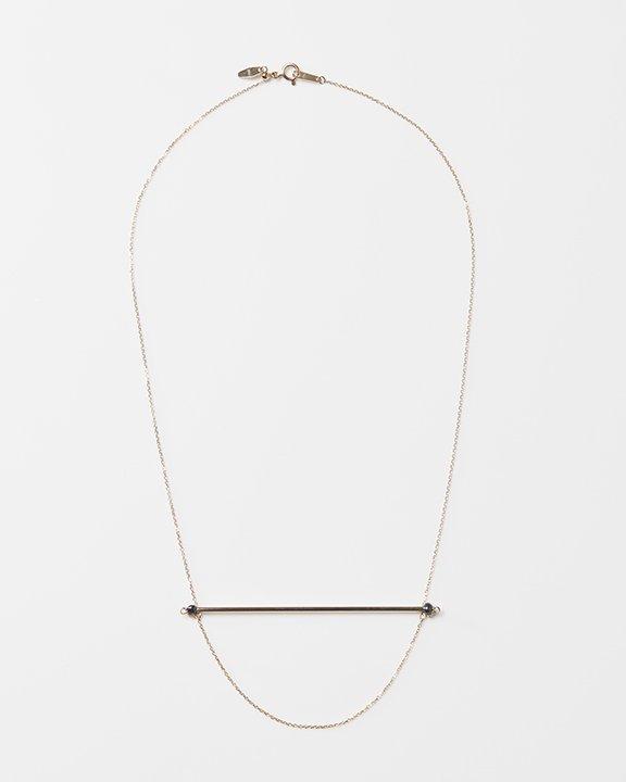 SEN black pearl Necklace