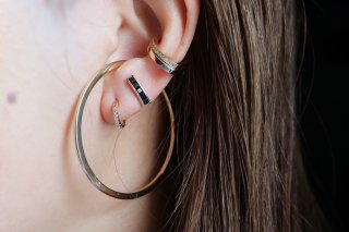 Gossamer Collection Ear Cuff size:XL