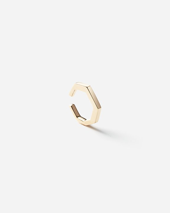 Manhattan Collection Ear Cuff octagoncut