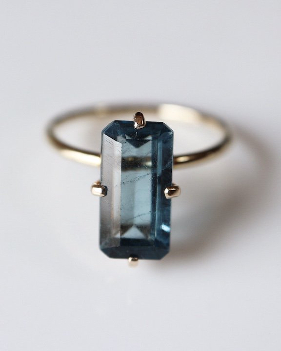 Smart Ring(London Blue Topaz) | ブルートパーズ  リング