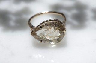 Moss ring ルチルクォーツ