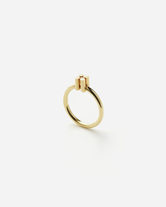 AUGUST  solitaire ring S size