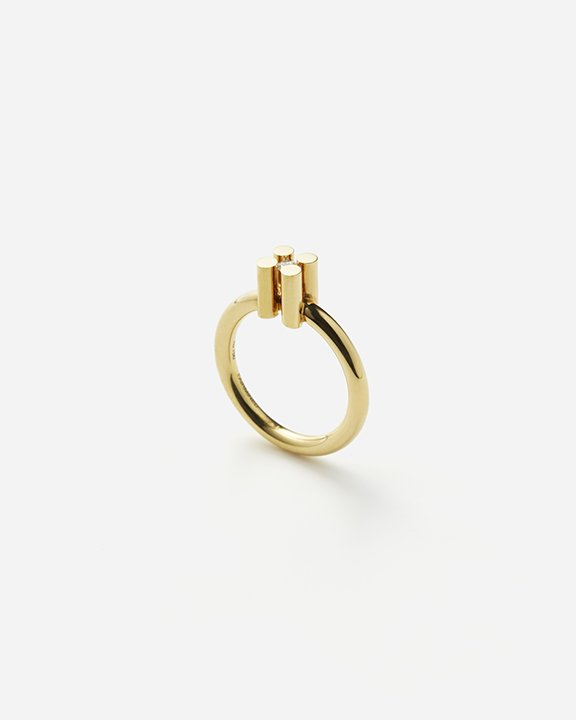 AUGUST  solitaire ring M size