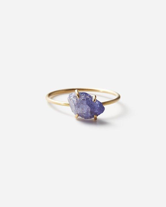 Tanzanite Gem Ring A | タンザナイト リング