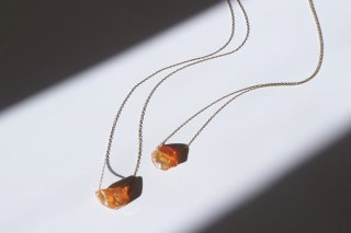 Fire Opal Top Necklace