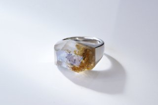 Garden Quartz Rock Ring (Crystal Cut)