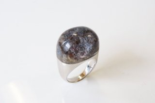 Garden Quartz Rock Ring (Round Cut)