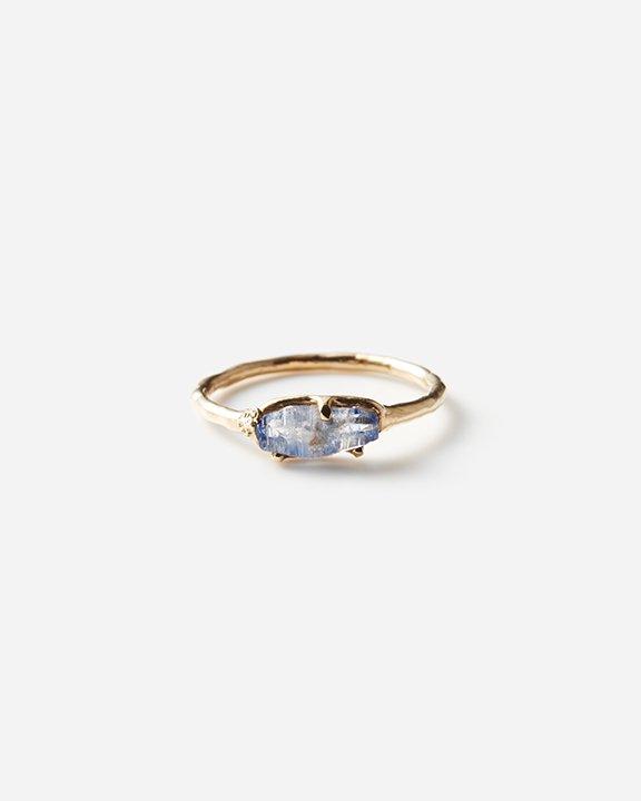 Moss ring サファイア原石
