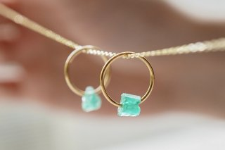 Emerald Pendant Top