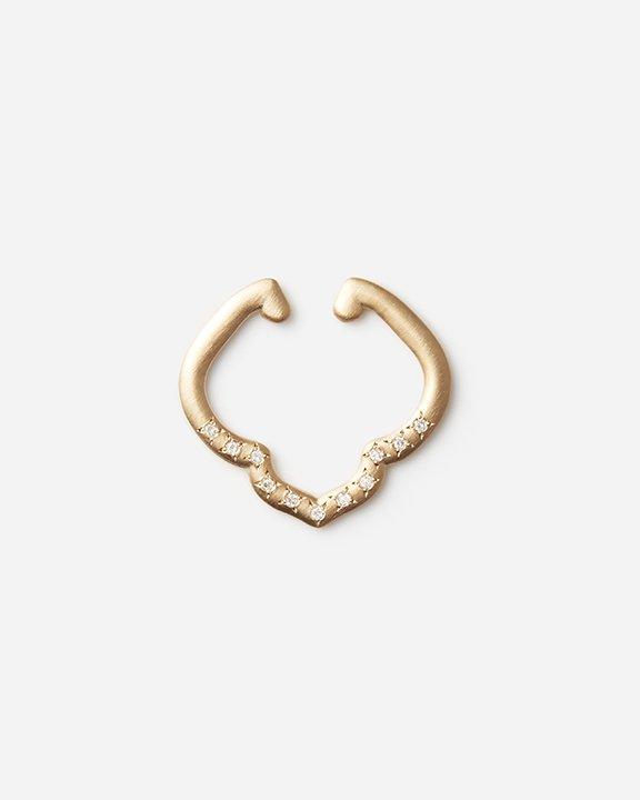 CREST Diamond EarCuff / Lily