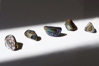 Abalone Shell Rock Earring(single)