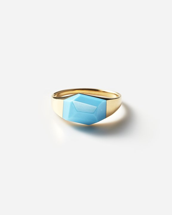 Turquoise Rock Ring | ターコイズ リング