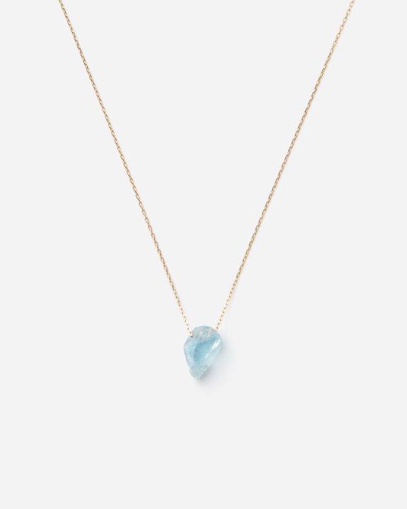 Aquamarine Top Necklace