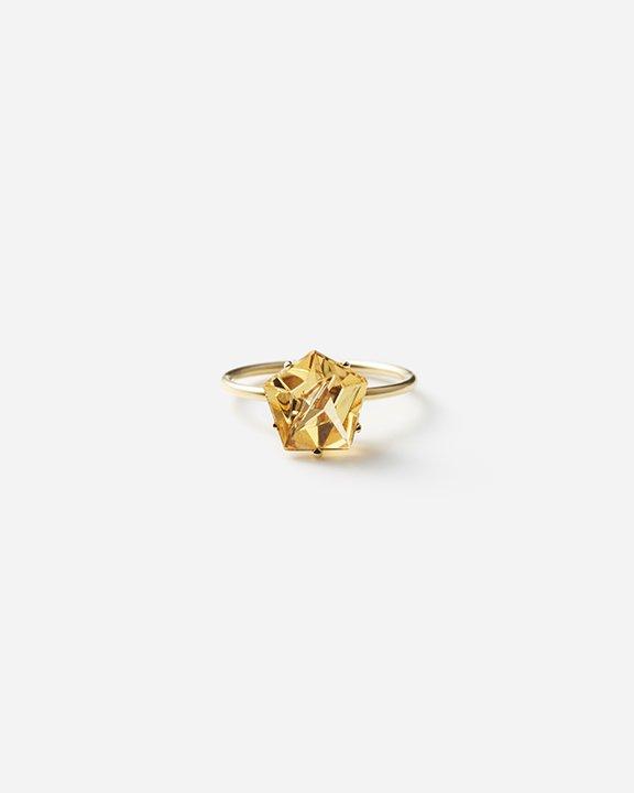 KLAR Citrine Ring   シリトン リング