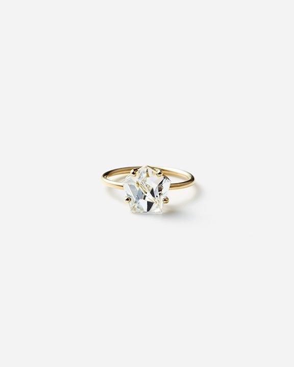 KLAR Aquamarine Ring