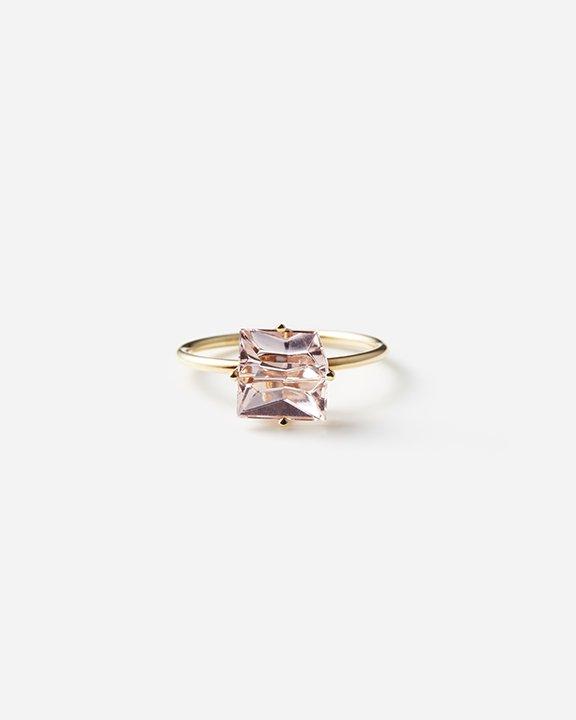 KLAR Morganite Ring   モルガナイト リング