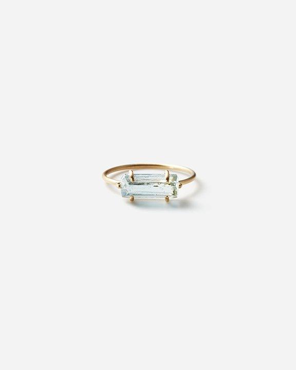 Aquamarine Gem Ring  | アクアマリン リング