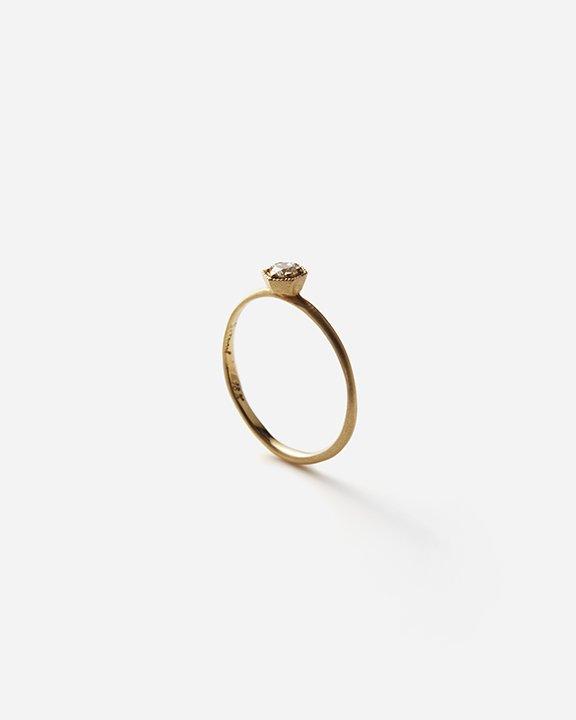 3mm White Diamond Hexagon Ring   ダイヤモンド リング【10/1 fri.〜10 sun. 期間限定受注会】