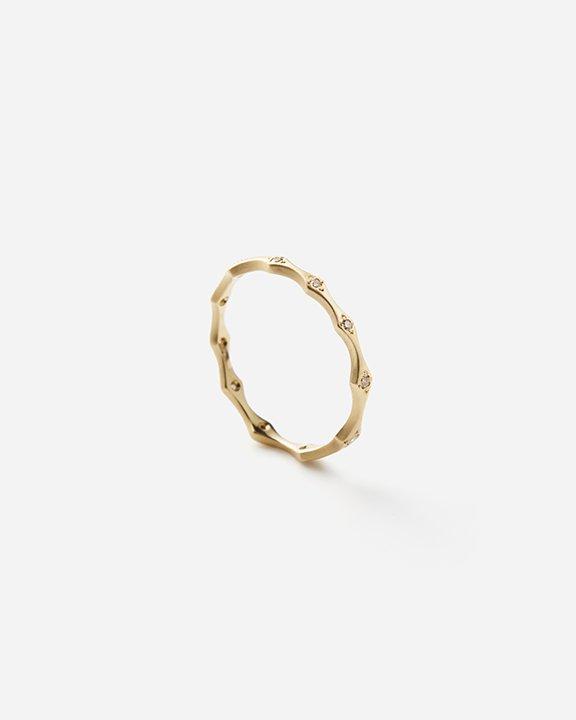 Small Brown Diamond Marrakech Ring   ダイヤモンド リング【10/1 fri.〜10 sun. 期間限定受注会】