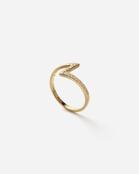White Diamond Lightning Ring   ダイヤモンド リング【10/1 fri.〜10 sun. 期間限定受注会】