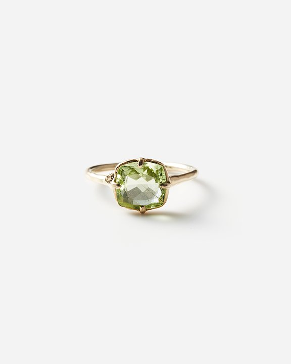 Moss ring ルチルペリドット<img class='new_mark_img2' src='https://img.shop-pro.jp/img/new/icons8.gif' style='border:none;display:inline;margin:0px;padding:0px;width:auto;' />