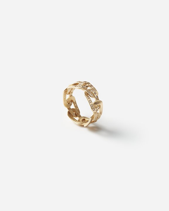 JOINT Ring / 7.0MM / Half Diamonds<img class='new_mark_img2' src='https://img.shop-pro.jp/img/new/icons8.gif' style='border:none;display:inline;margin:0px;padding:0px;width:auto;' />