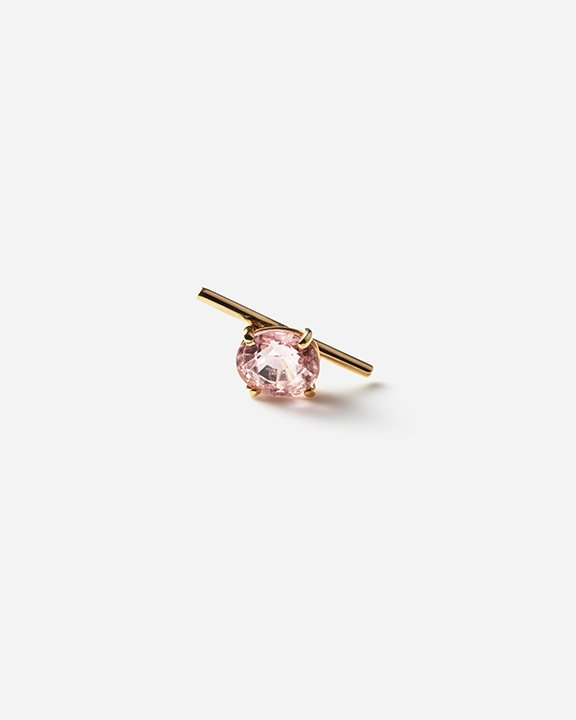 Bar pierce Pink Tourmaline(oval) | バーピアス ピンクトルマリン<img class='new_mark_img2' src='https://img.shop-pro.jp/img/new/icons8.gif' style='border:none;display:inline;margin:0px;padding:0px;width:auto;' />