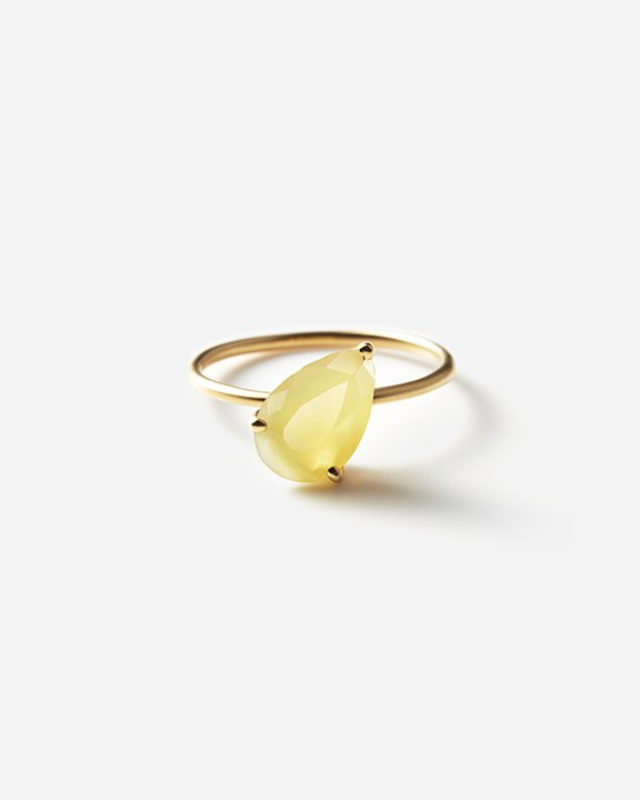 Yellow Opal Ring   イエローオパールリング