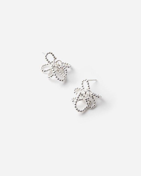 Window Earrings M | シルバー ピアス