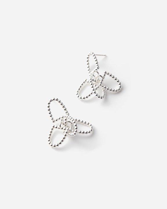 Window Earrings L | シルバー ピアス
