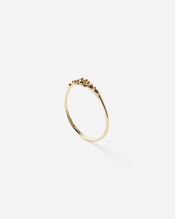 Delicate Dewdrop Band   ゴールド リング【10/1 fri.〜10 sun. 期間限定受注会】<img class='new_mark_img2' src='https://img.shop-pro.jp/img/new/icons8.gif' style='border:none;display:inline;margin:0px;padding:0px;width:auto;' />